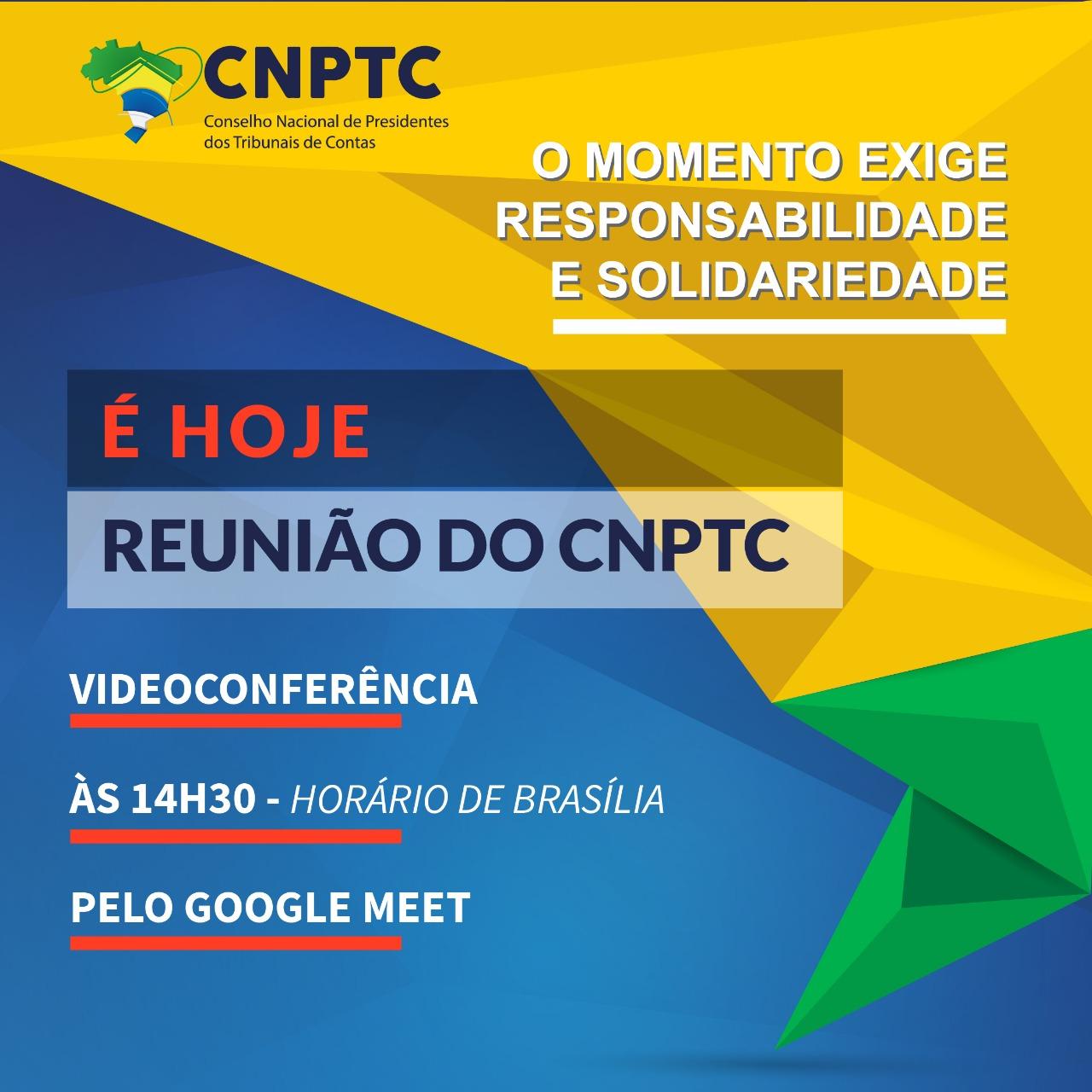 Capa de notícia: Reunião do CNPTC