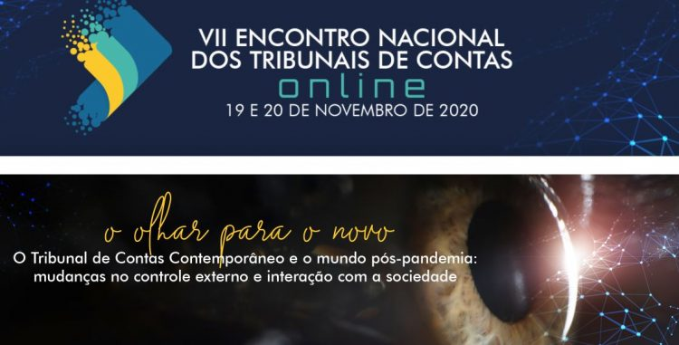 Capa de notícia: Mesa de abertura do encontro nacional dos tribunais de contas