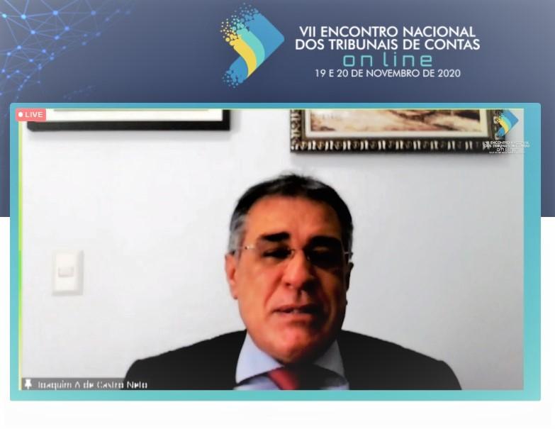 Capa de notícia: Encontro Nacional dos Tribunais de Contas