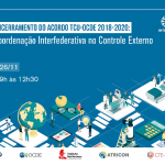 Capa de notícia: Encerramento do Acordo TCU OCDE
