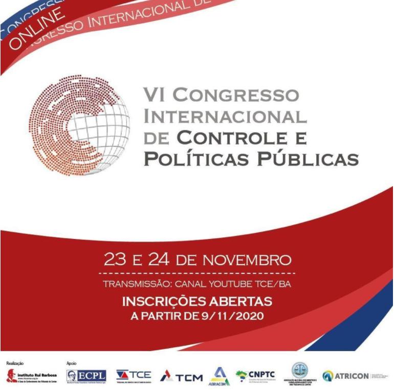 Capa de notícia: Congresso Internacional de Controle e Políticas Públicas